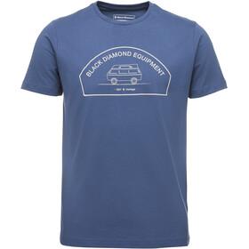 Black Diamond Rock Van Bluzka z krótkim rękawem Mężczyźni niebieski